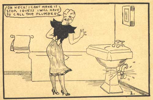 Dagwood and Blondie Tijuana Bibles Comics
